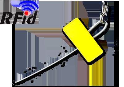 sigilii securitate plastic rfid ce permit monitorizare, pentru banci, transporturi, distributie