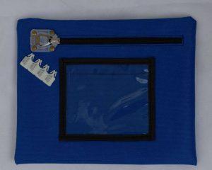 geanta transport valori cu sigiliu din plastic cu identificare - zipstop- Asined