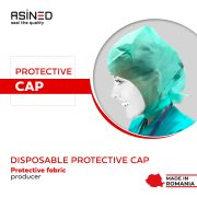 banner asined disposable cap