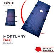 banner asined mortuary bag
