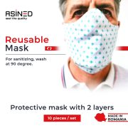 banner asined reusable mask