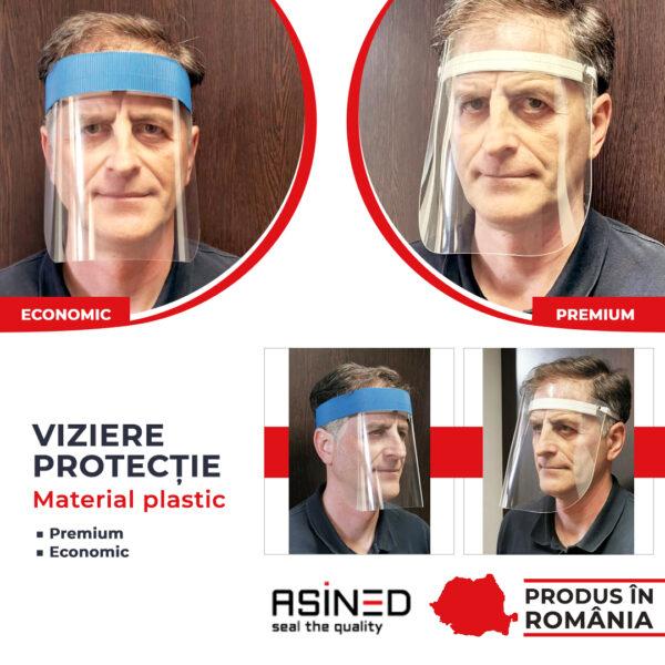 Viziere protectie material plastic